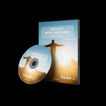 DVD – Volume 01 – PARCOURS PRIÈRE CHRÉTIENNE de Carolina Costa
